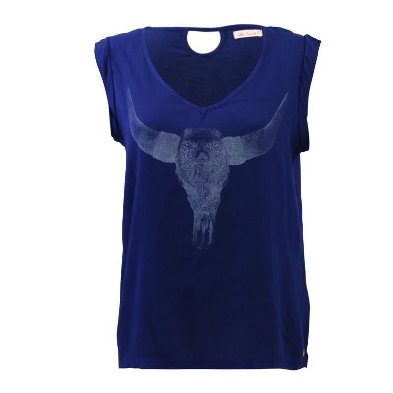 T-Shirt Little Marcel Tamera Marine - Couleurs - MARINE