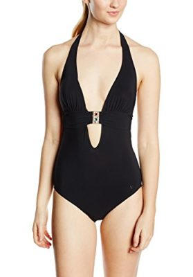 Banana Moon Kelsey Black Maillot-une-pice-Uni-Femme-0